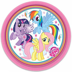 "My Little Pony Lunch Plates 9"" (8)"