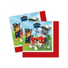 Paw Patrol Lunch Napkins (20)