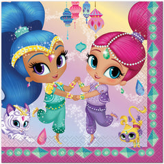 Shimmer And Shine Lunch Napkins (16)