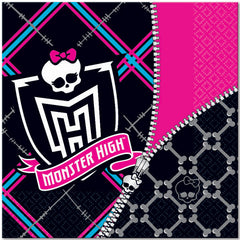 Monster High Lunch Napkins (16)