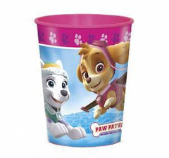 Paw Patrol Pink Favour Cups 16oz