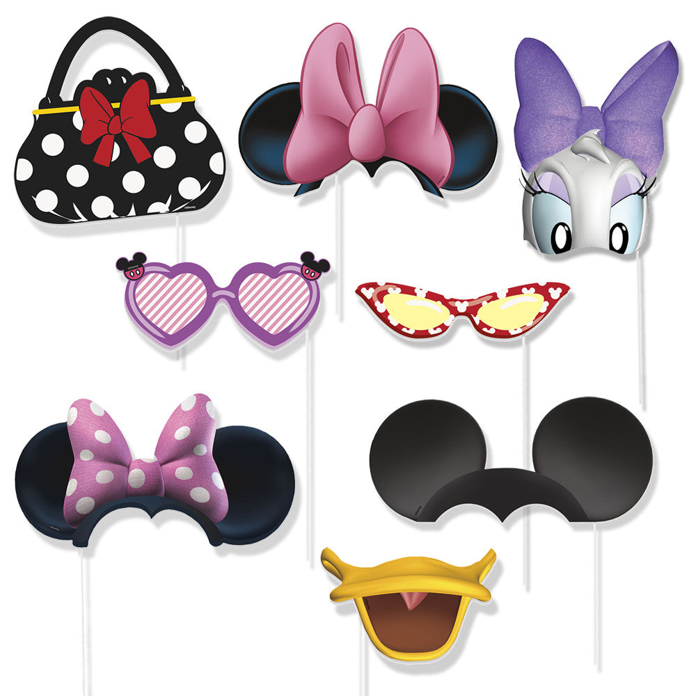 Minnie Mouse Photo Booth Party Props (8)