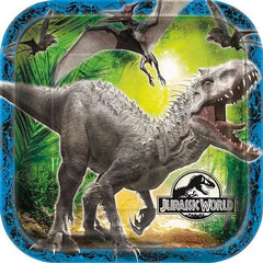 "Jurassic World Lunch Plates 9"" (8)"