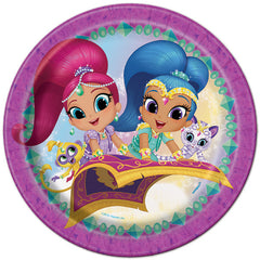 Shimmer And Shine Lunch Plates (8)