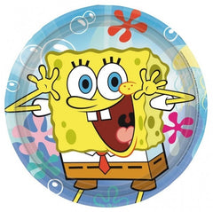 Sponge Bob Square Pants Lunch Plates (8)