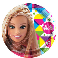 Barbie Lunch Plates (8)