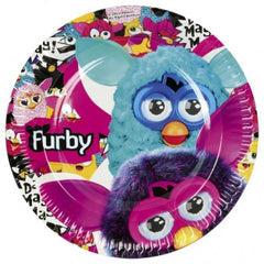 Furby Lunch plates (8)