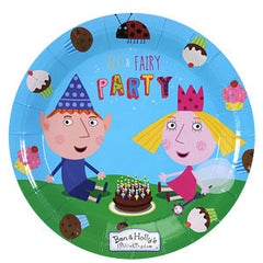 Ben and Holly Plates (8)