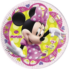 Minnie Mouse Plates (8)