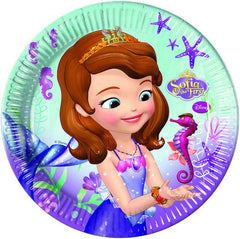 Sofia The First Lunch Plates (8)