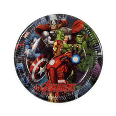 Marvel Avengers Lunch Plates (8)