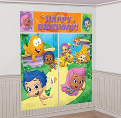 Bubble Guppies Giant Scene Setter