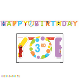 Sesame Street Jumbo Add an Age 'Happy Birthday' Banner