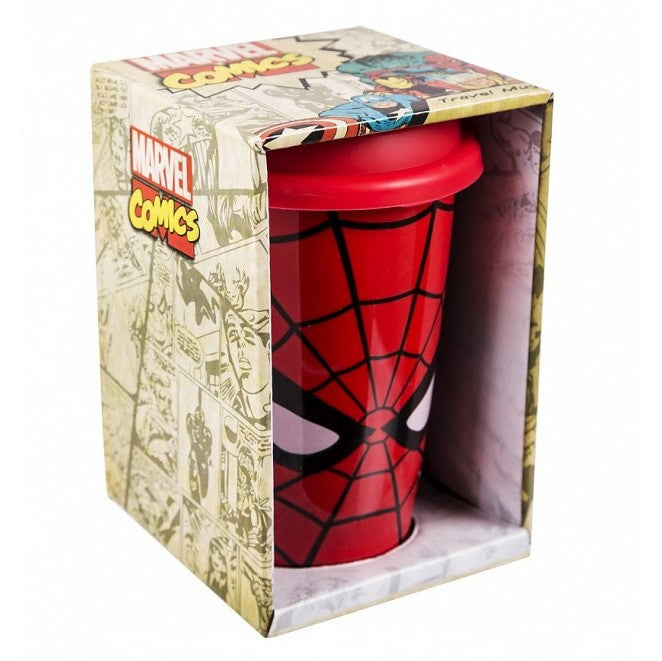 Spiderman Ceramic Travel Mug