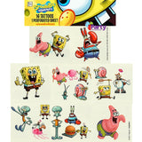 Sponge Bob Square Pants Tattoos