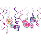 My Little Pony Hanging Swirl Decorations (12)