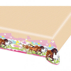 Charming Horses Table Cover