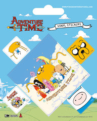 Adventure Time Vinyl Stickers