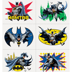 24 Batman Tattoos on 4 sheets