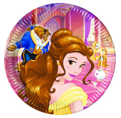 Beauty And The Beast Lunch Plates (8)