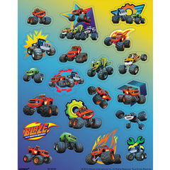 Blaze and the Monster Machines Stickers - 4 sheets, 80 Stickers