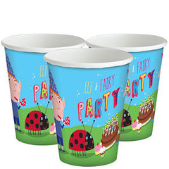 Ben and Holly Cups (8)