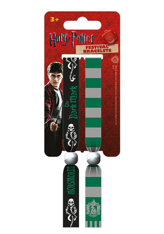 Harry Potter (Slytherin) Festival Wristbands (2) FWR68020