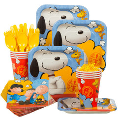 Snoopy Peanuts Party Kit for 8