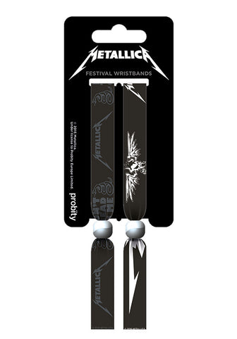 Metallica Festival Wristbands (2) FWR68053