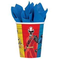 Power Rangers Ninja Steel Cups 9oz (8)