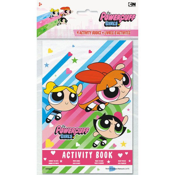 Powerpuff Girls Activity Books (4)