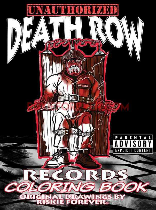 Unauthorized Death Row Records Coloring Book
