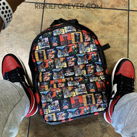 Death Row Album Covers Backpack - Limited Edition! (INTERNATIONAL)