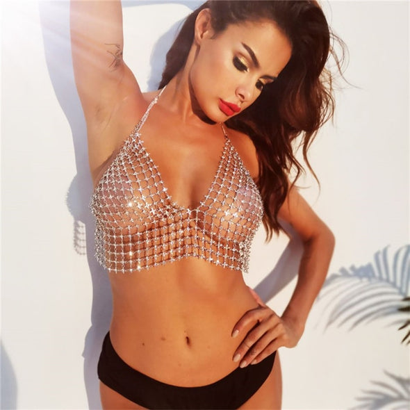 Seduction Rhinestones Top