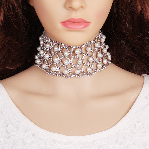 Love Me Now Pearl Choker