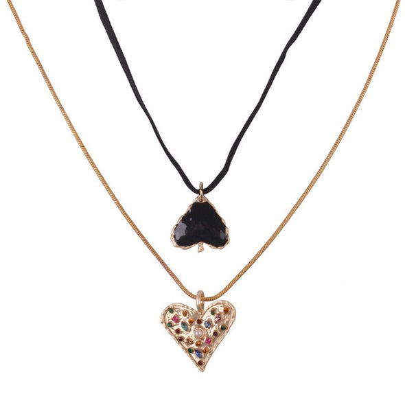 "Heart Beat Statement Chain ""Party"""