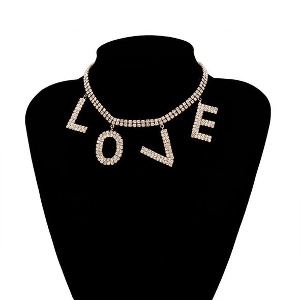 "Love Me More Statement Chain ""Party"""