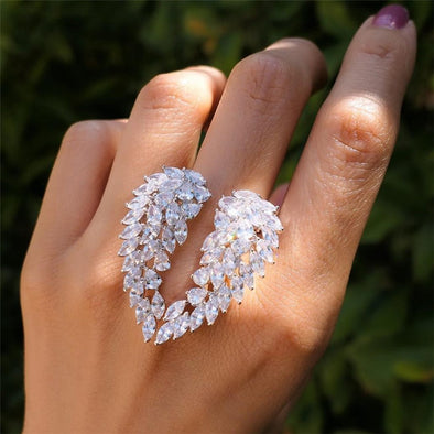 Crystal  Heaven Ring Set (1 pcs)
