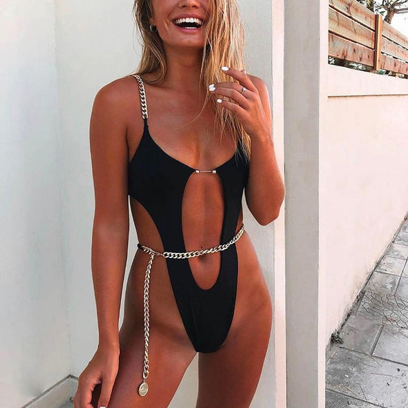 Highlight Bikini Waist Chain