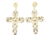 Pair Perfect Cross Earrings