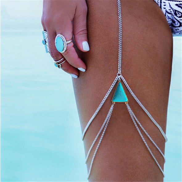 Beach Lover Leg Chain