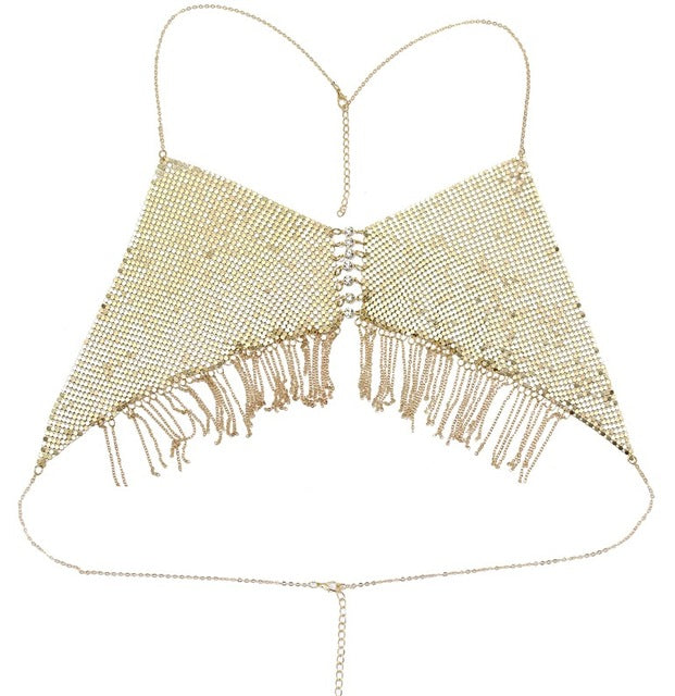Tease Me Good Bra Chain - Fashion Cheekz