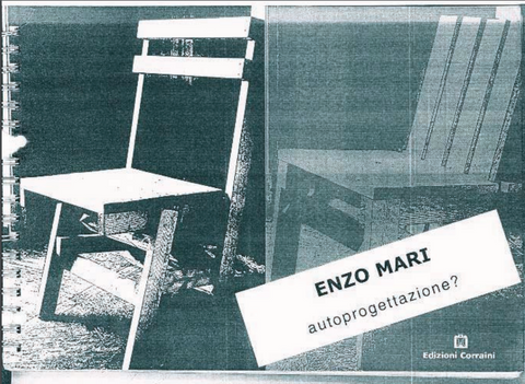 Pleasing Enzo Mari Autoprogettazione V2 Dailytribune Chair Design For Home Dailytribuneorg