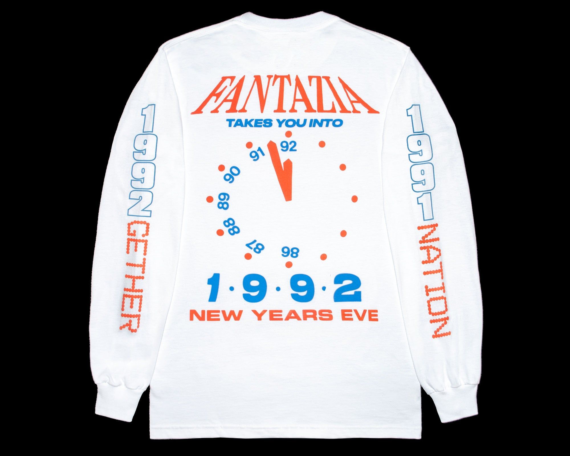 NYE 1992 Fantazia — Orange/Blue