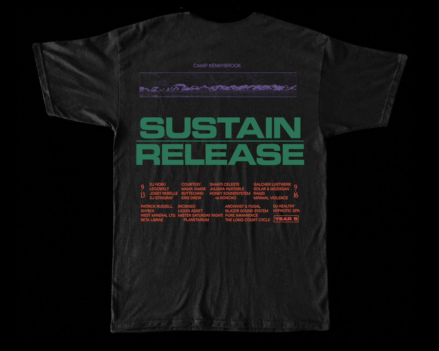 Sustain Release Short Sleeve