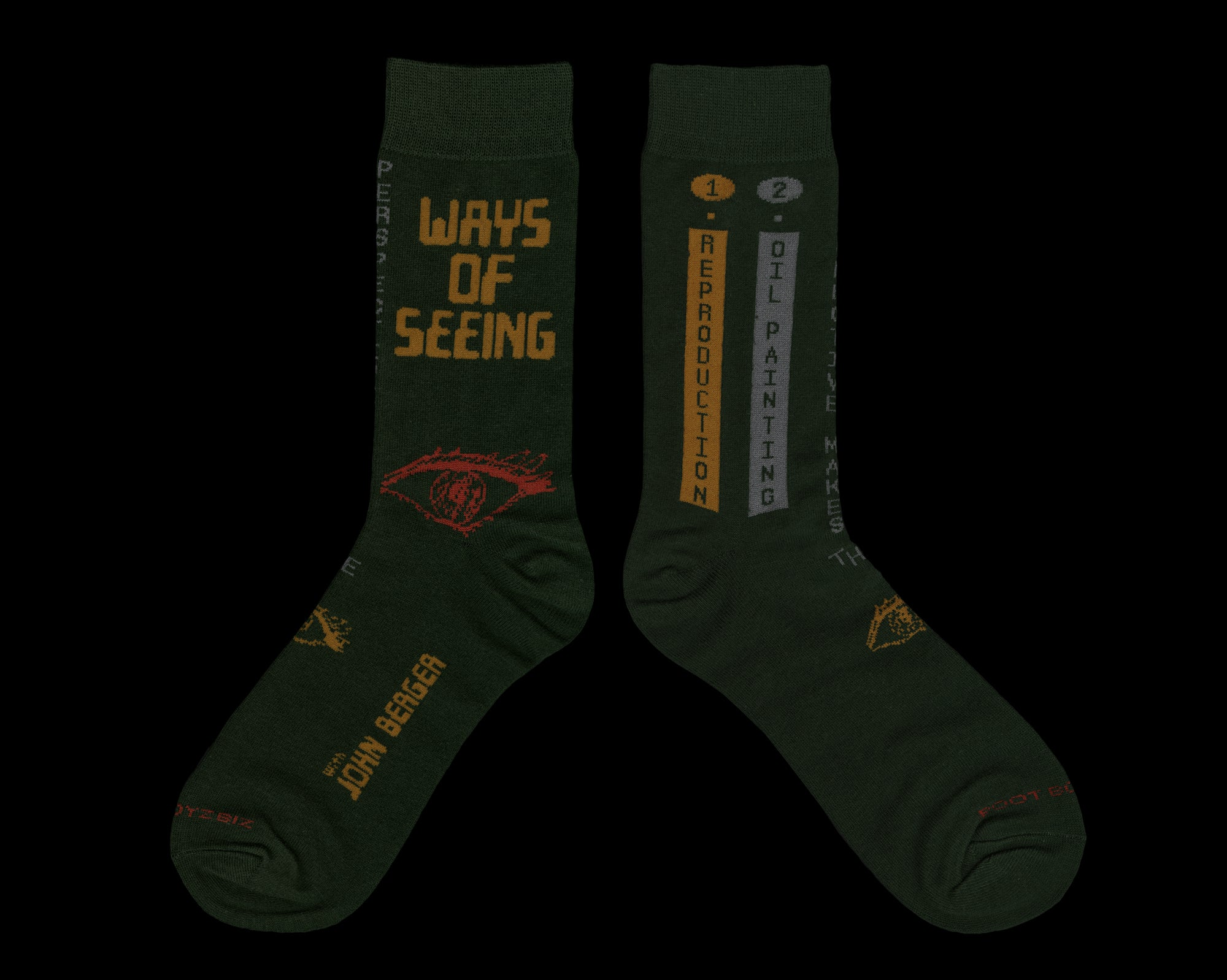 Ways of Seeing / Remember to Remember / Archiveology - Sock Pack