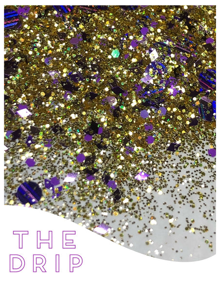 The Drip Chunky Glitter Mix