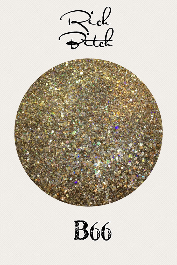 Rich Bitch Custom Mix Glitter
