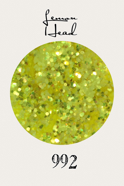 Lemon Head Chunky Iridescent Glitter