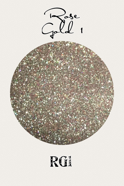 Rose Gold 1 Custom Mix Glitter